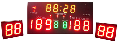 Water Polo Portable Score Board and Shot Clocks