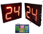 Wireless Water Polo Shot Clocks with Controller 2