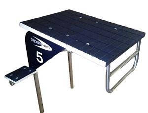 Stainless Steel Dual Post Platform 1